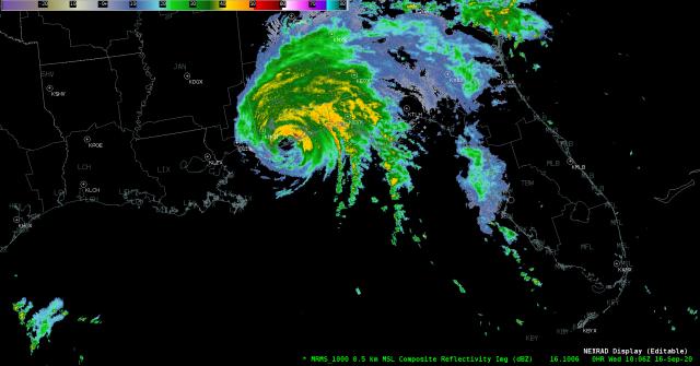 #Sally finally makes landfall